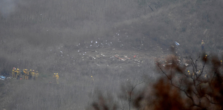 تحطم طائرة نجم كرة السلة كوبى براينت (4)