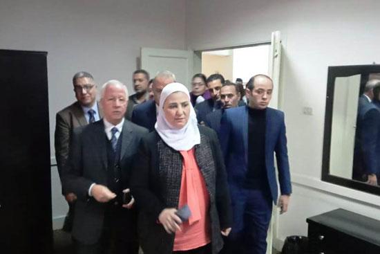 وزيرة التضامن تتفقد دار إيواء ضحايا الإتجار بالبشر  (10)