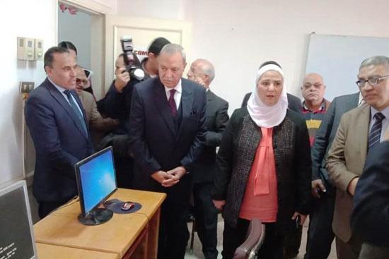 وزيرة التضامن تتفقد دار إيواء ضحايا الإتجار بالبشر  (8)