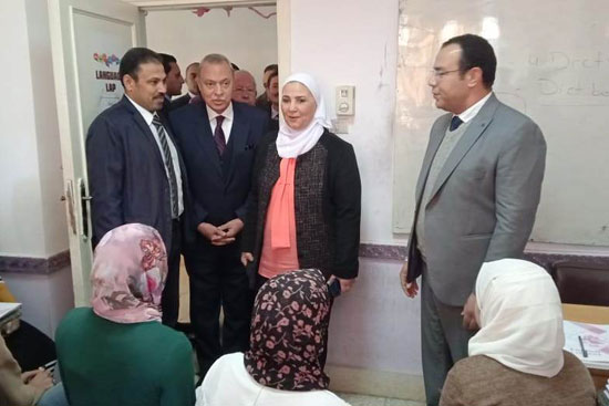 وزيرة التضامن تتفقد دار إيواء ضحايا الإتجار بالبشر  (7)