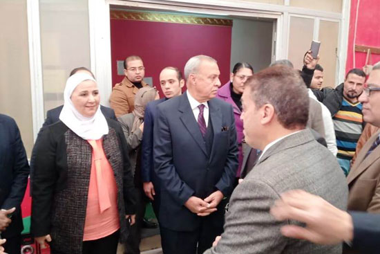 وزيرة التضامن تتفقد دار إيواء ضحايا الإتجار بالبشر  (9)