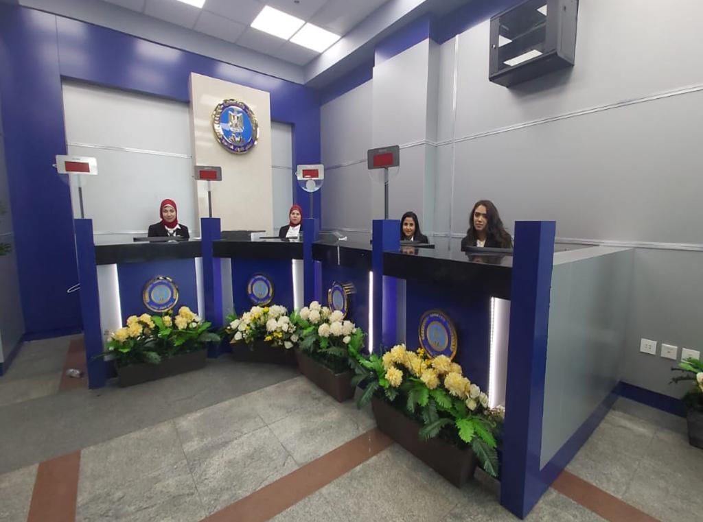افتتاح موقع جديد للأحوال المدنية بمطار القاهرة (2)