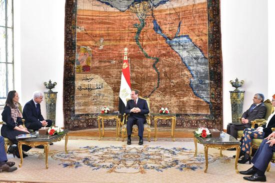 السيسى يتسلم وسام سان جورج الألمانى  (4)