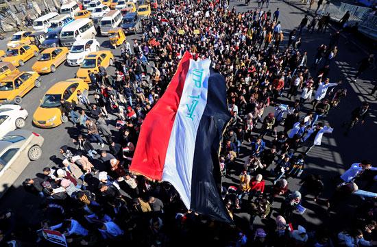 مظاهرات-بوسط-بغداد