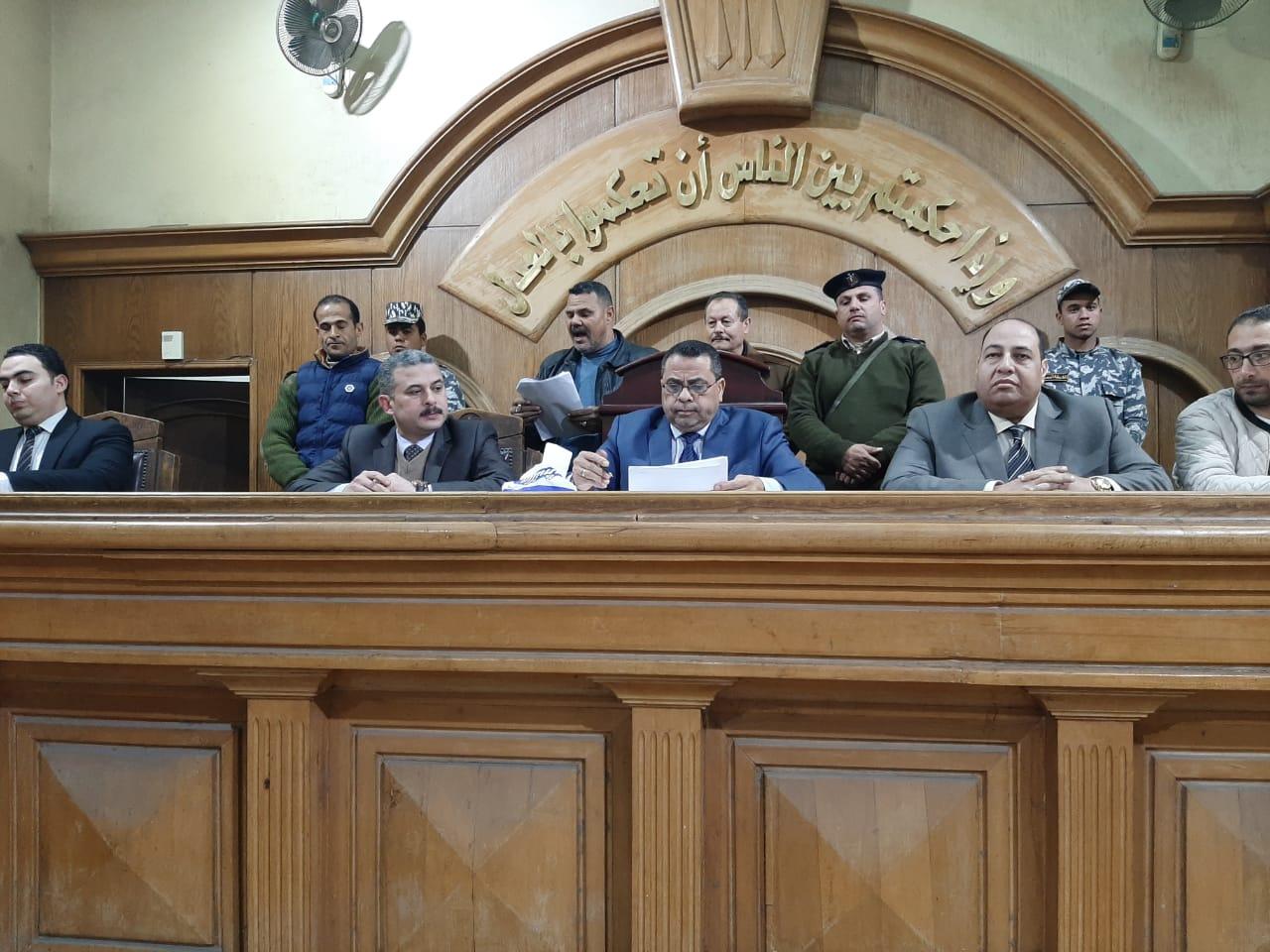 محكمة جنايات الزقازيق بالشرقية (1)