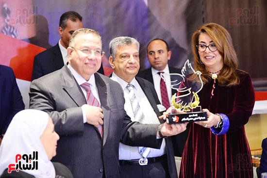 تكريم غادة والى بمناسبة توليها منصب وكيل السكرتير العام للأمم المتحدة (2)
