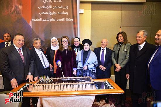تكريم غادة والى بمناسبة توليها منصب وكيل السكرتير العام للأمم المتحدة (22)