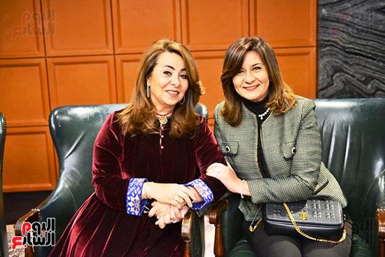 تكريم غادة والى بمناسبة توليها منصب وكيل السكرتير العام للأمم المتحدة (5)