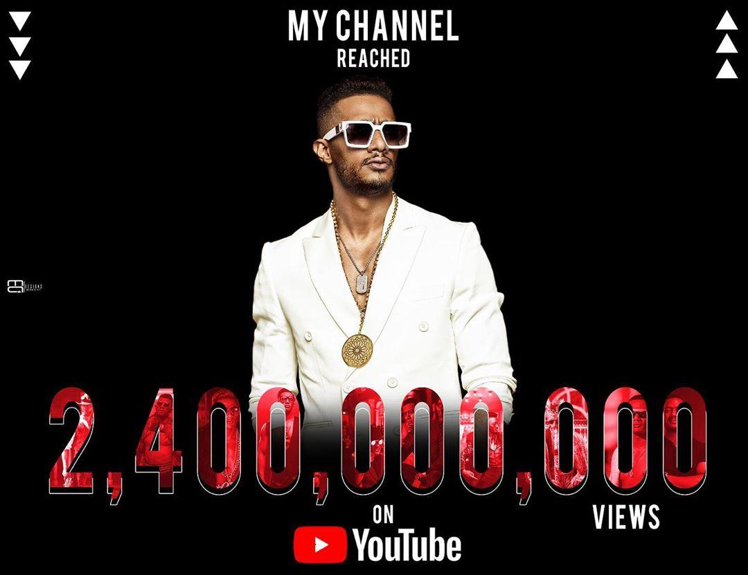 قناة محمد رمضان تصل إلى 2 مليار و400 مليون مشاهدة على ...