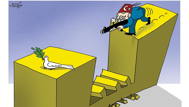 أردوغان يقتل السلام فى ليبيا