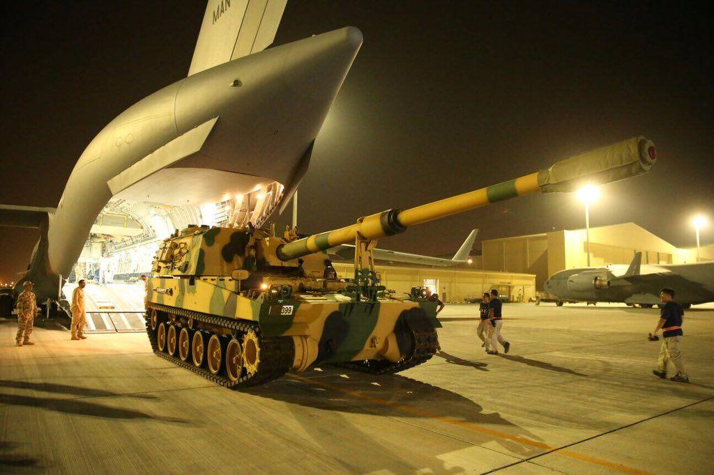 وصول دفعة سادسة من القوات التركية لقطر