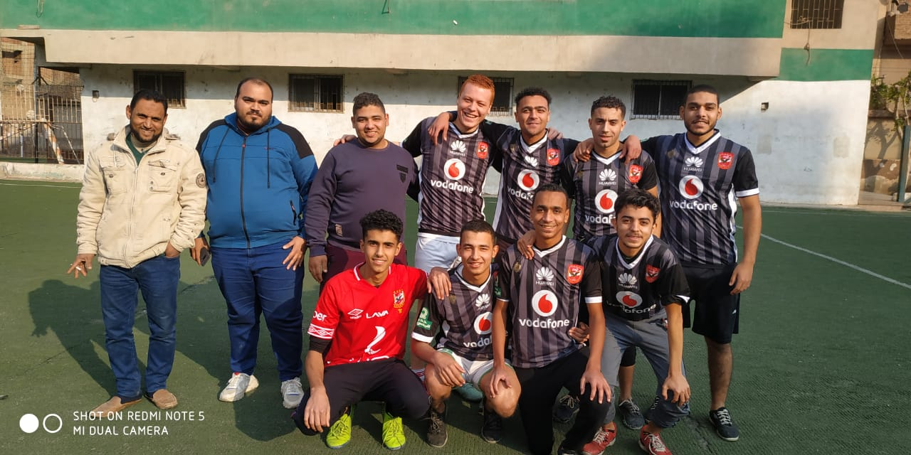 دورة لأنى رجل مصرى لكرة القدم بالقليوبية (4)