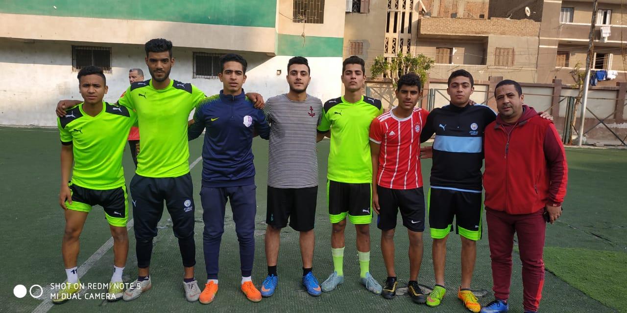 دورة لأنى رجل مصرى لكرة القدم بالقليوبية (3)