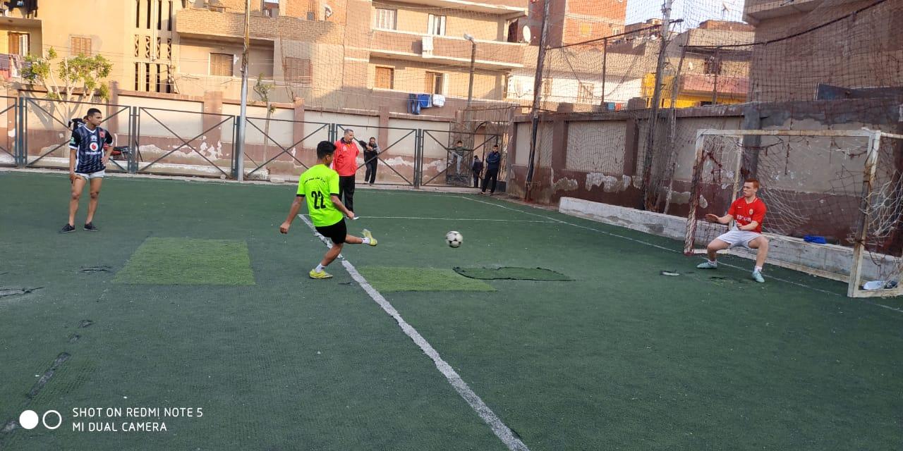 دورة لأنى رجل مصرى لكرة القدم بالقليوبية (2)