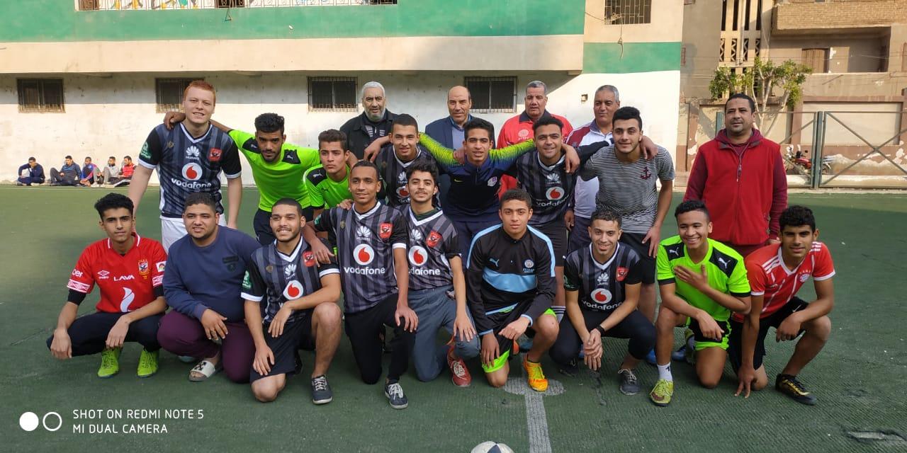 دورة لأنى رجل مصرى لكرة القدم بالقليوبية (5)