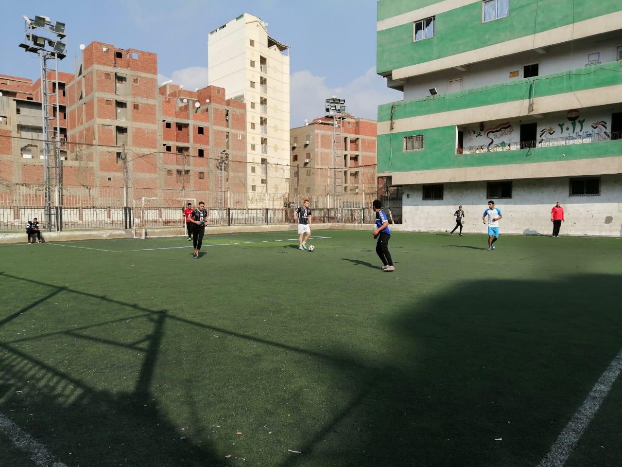 دورة لأنى رجل مصرى لكرة القدم بالقليوبية (1)