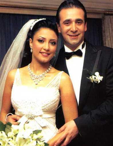 كريم وزوجته هايدي سرور