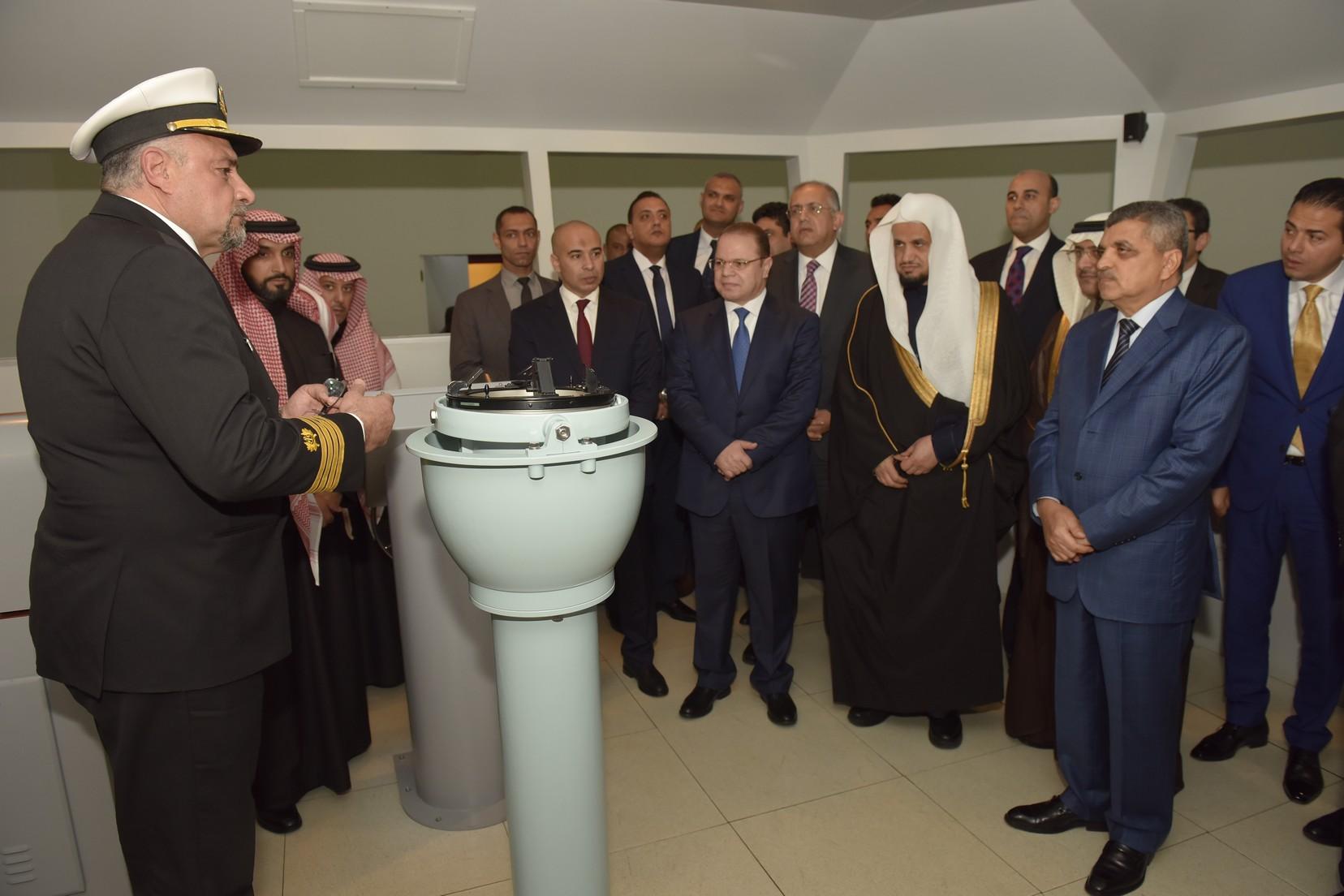الفريق أسامة ربيع يستقبل النائب العام المصرى والسعودي (10)