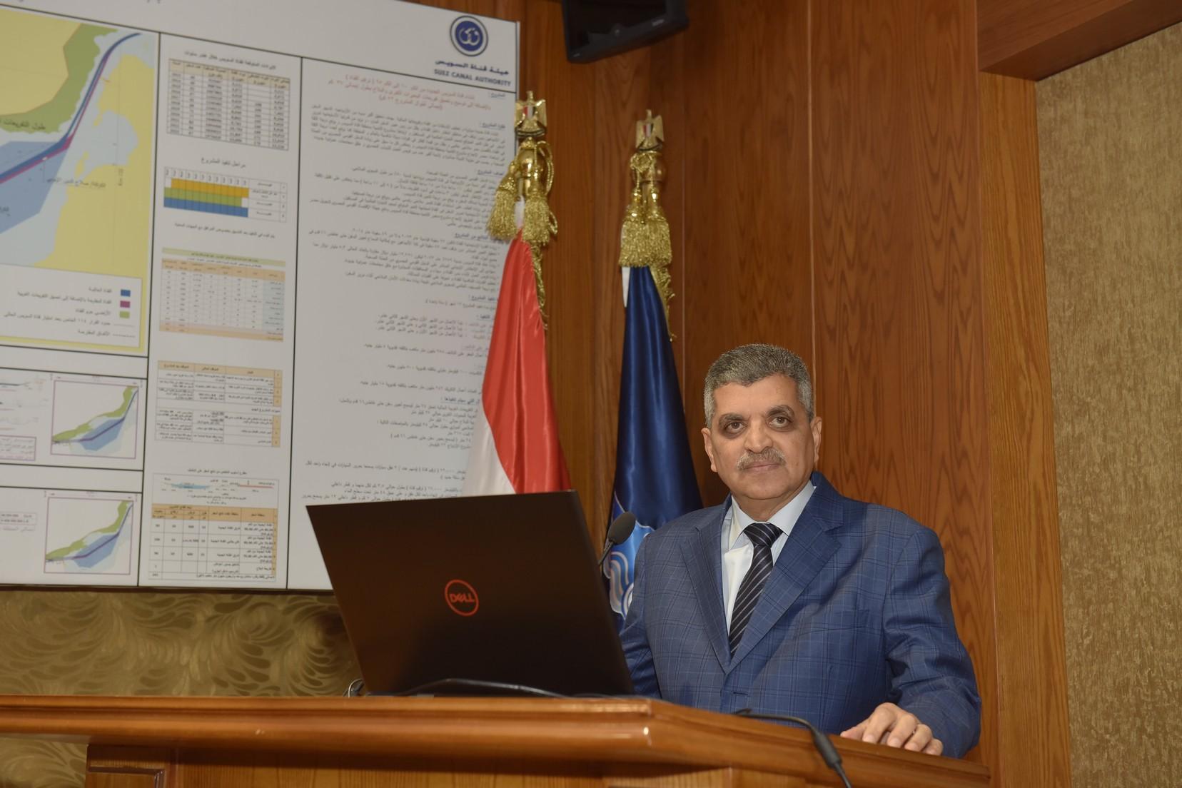 الفريق أسامة ربيع يستقبل النائب العام المصرى والسعودي (5)