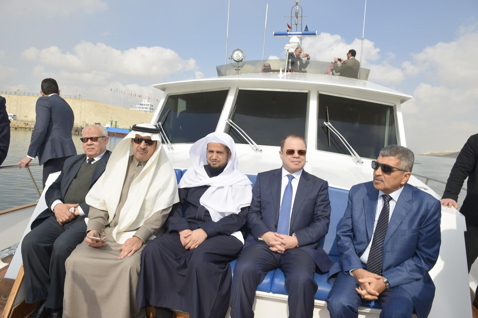 الفريق أسامة ربيع يستقبل النائب العام المصرى والسعودي (11)