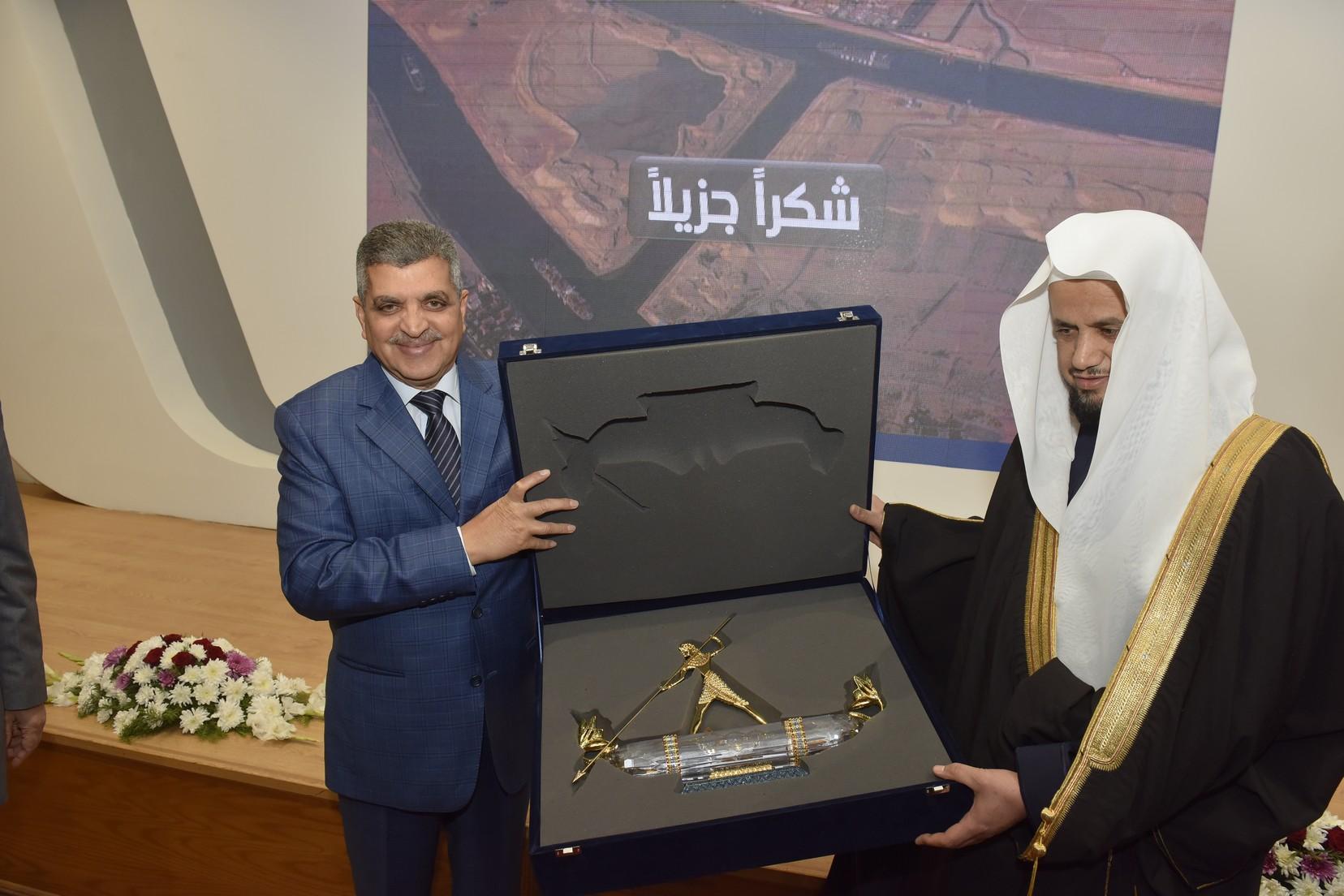 الفريق أسامة ربيع يستقبل النائب العام المصرى والسعودي (9)