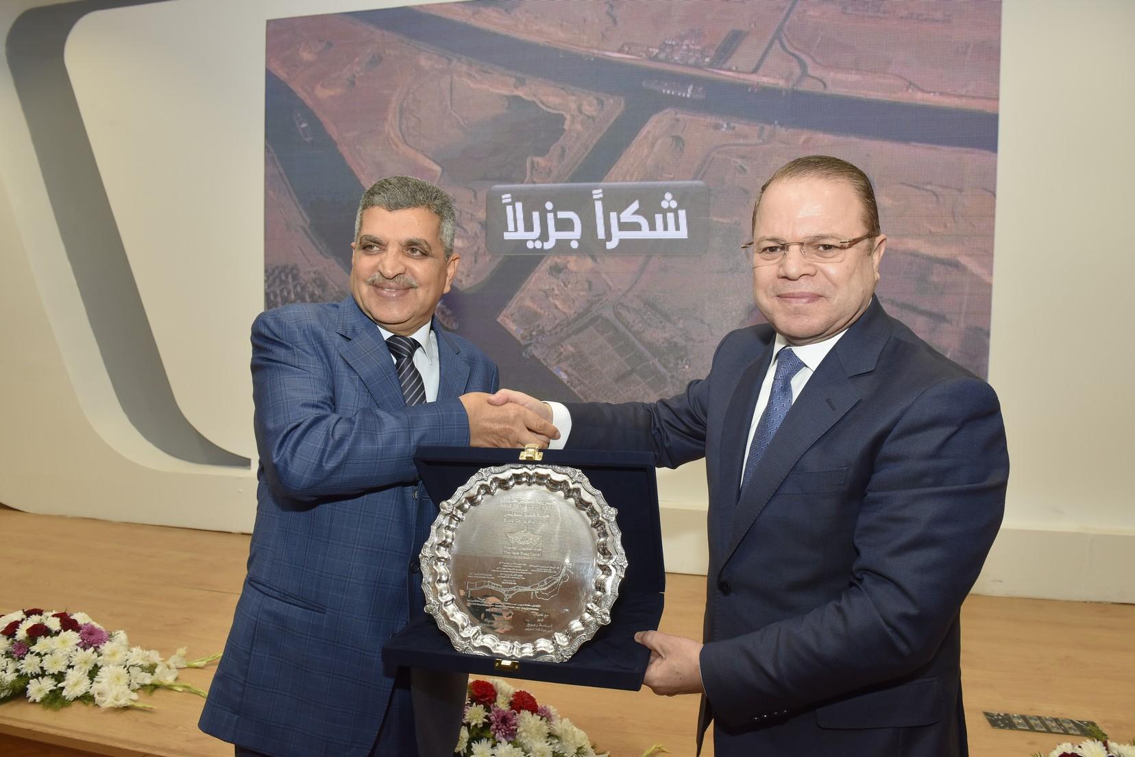 الفريق أسامة ربيع يستقبل النائب العام المصرى والسعودي (7)