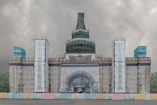 الصورة بعنوان كونستستوك، للمصورة الروسية أوليا بيغوفا