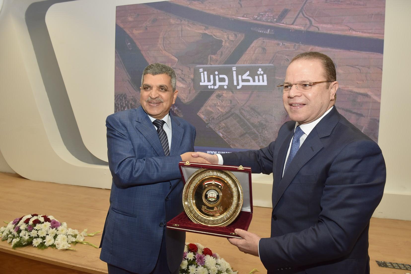 الفريق أسامة ربيع يستقبل النائب العام المصرى والسعودي (8)