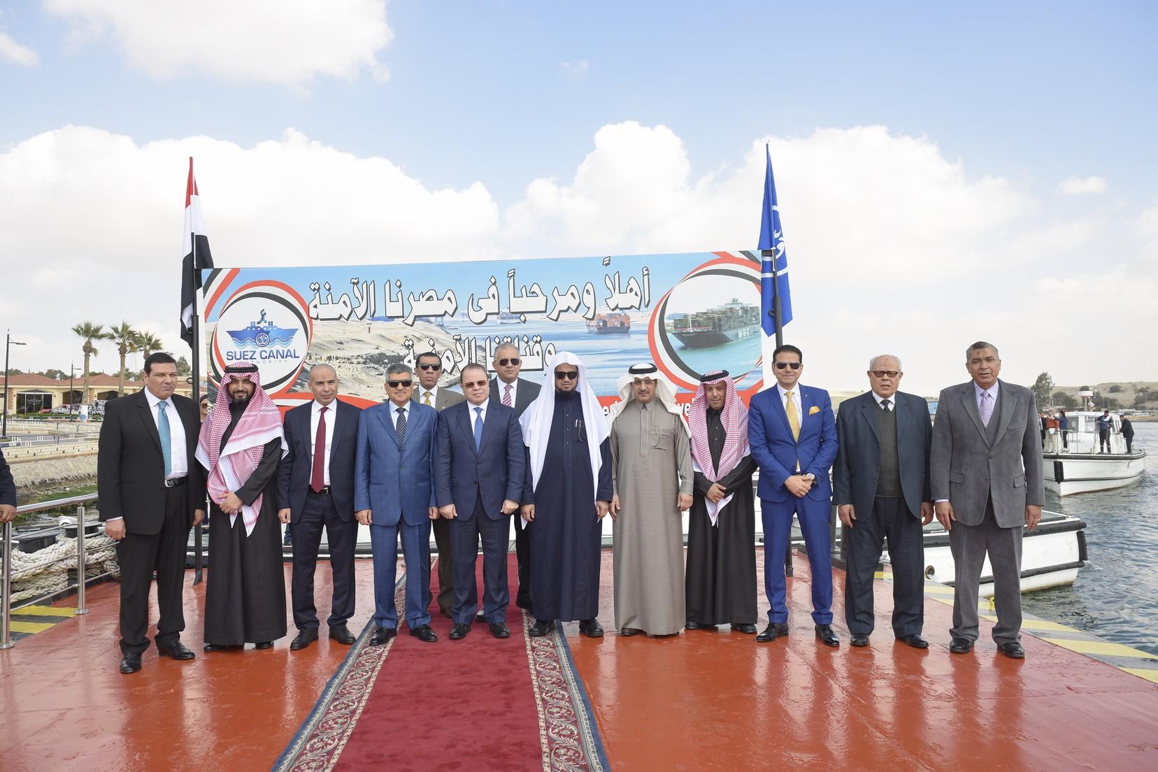 الفريق أسامة ربيع يستقبل النائب العام المصرى والسعودي (2)