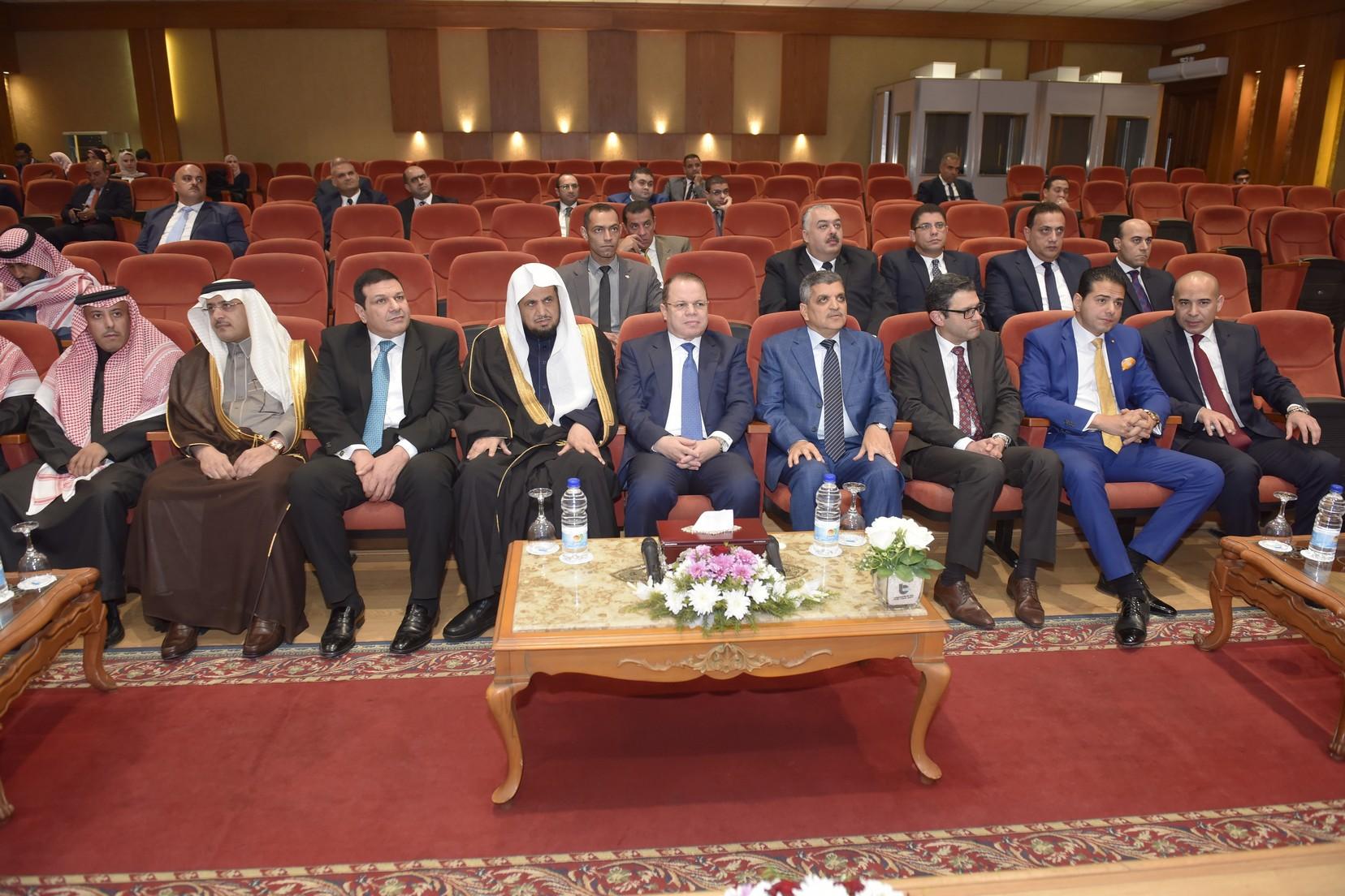 الفريق أسامة ربيع يستقبل النائب العام المصرى والسعودي (6)