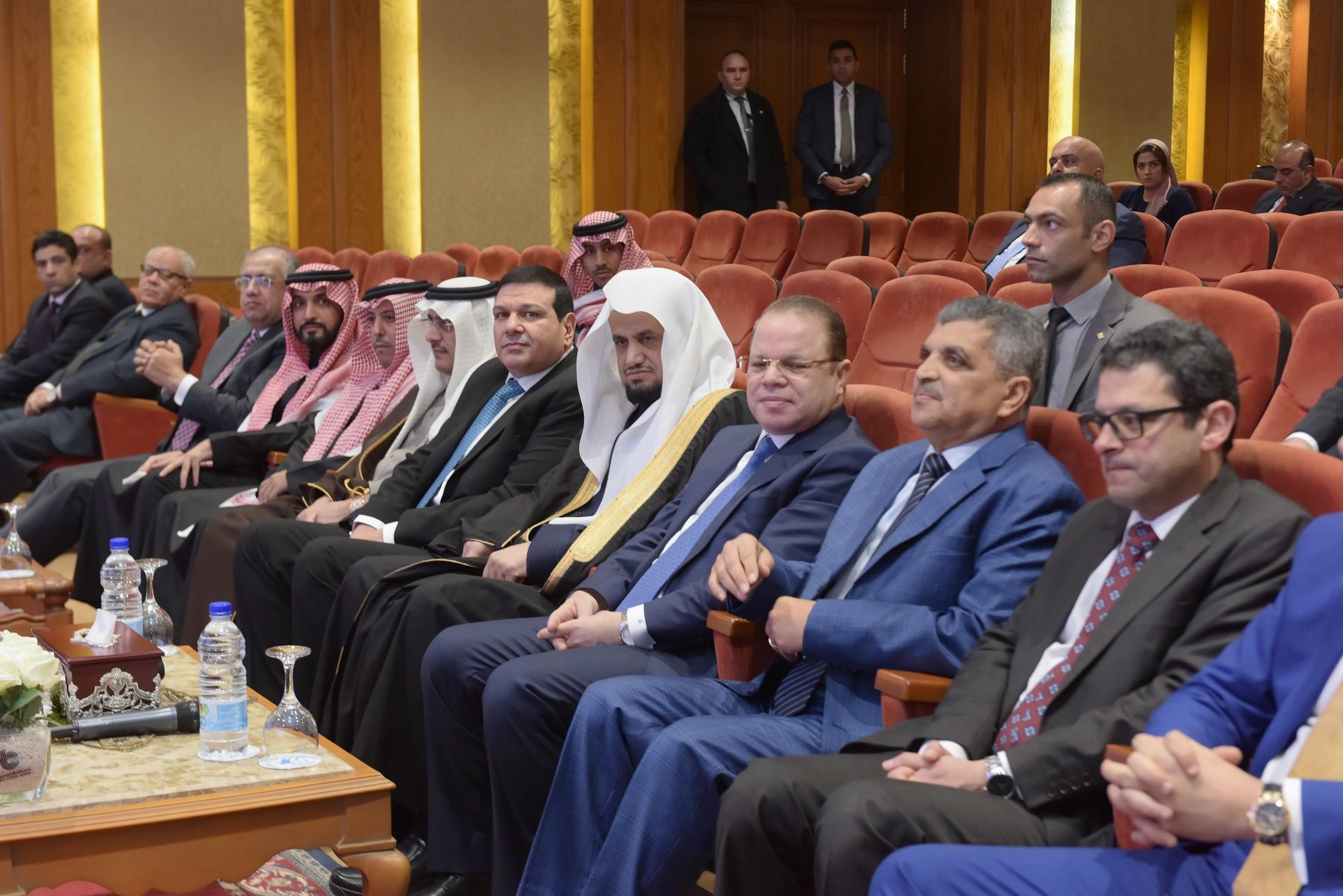 الفريق أسامة ربيع يستقبل النائب العام المصرى والسعودي (4)