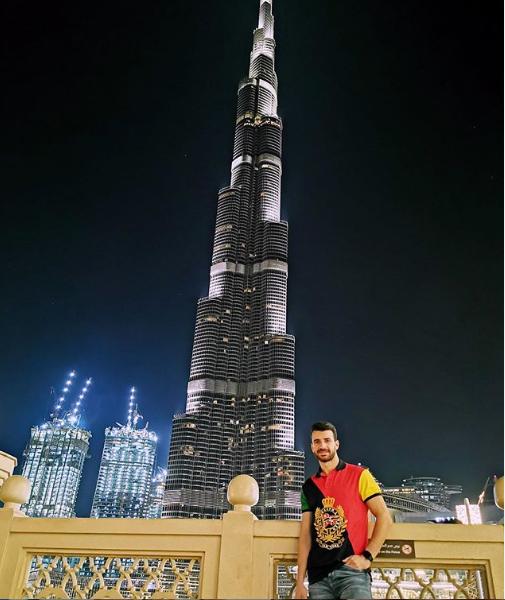 محمود متولي في دبي