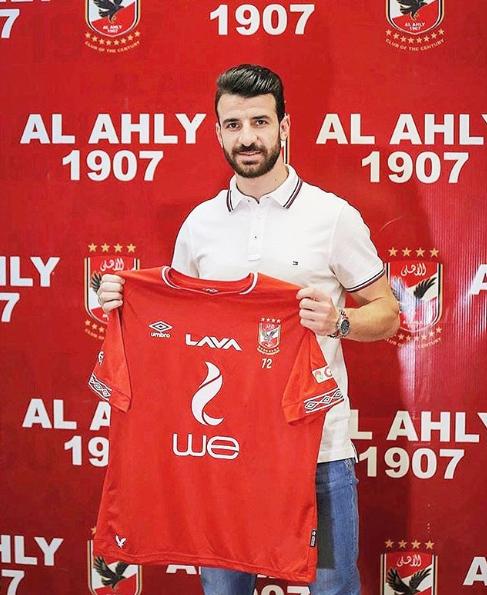 محمود متولي بعد التوقيع للاهلي