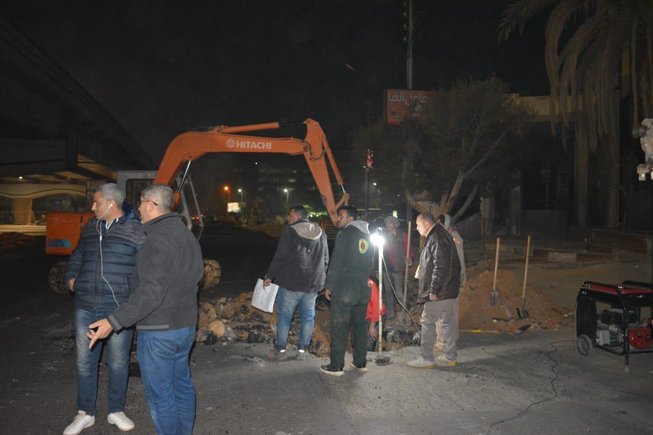 خطوط الغاز بمصر الجديدة (2)