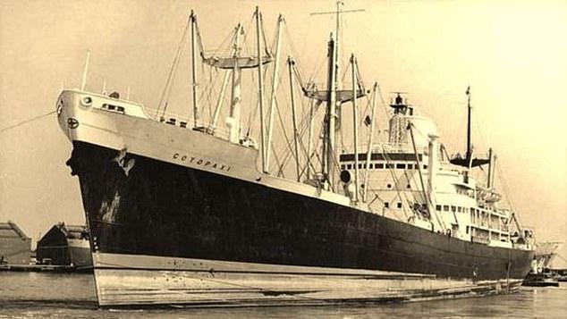 السفينة قبل اختفاءها عام 1925
