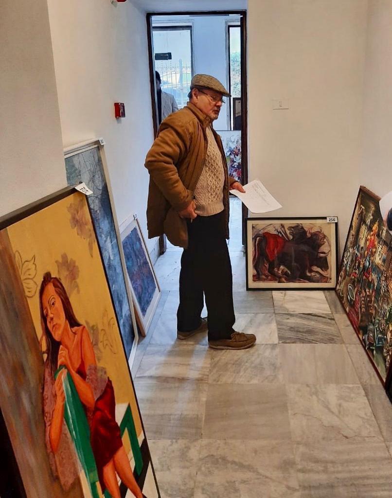 مؤسسة فاروق حسني الفنون والثقافة تختار الأعمال الفائزة للمشاركة في معرض مسابقة الفنون (2)