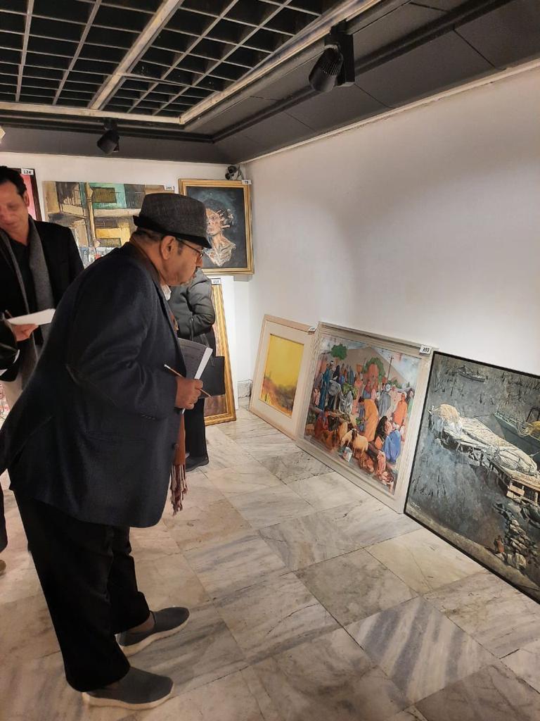 مؤسسة فاروق حسني الفنون والثقافة تختار الأعمال الفائزة للمشاركة في معرض مسابقة الفنون (5)