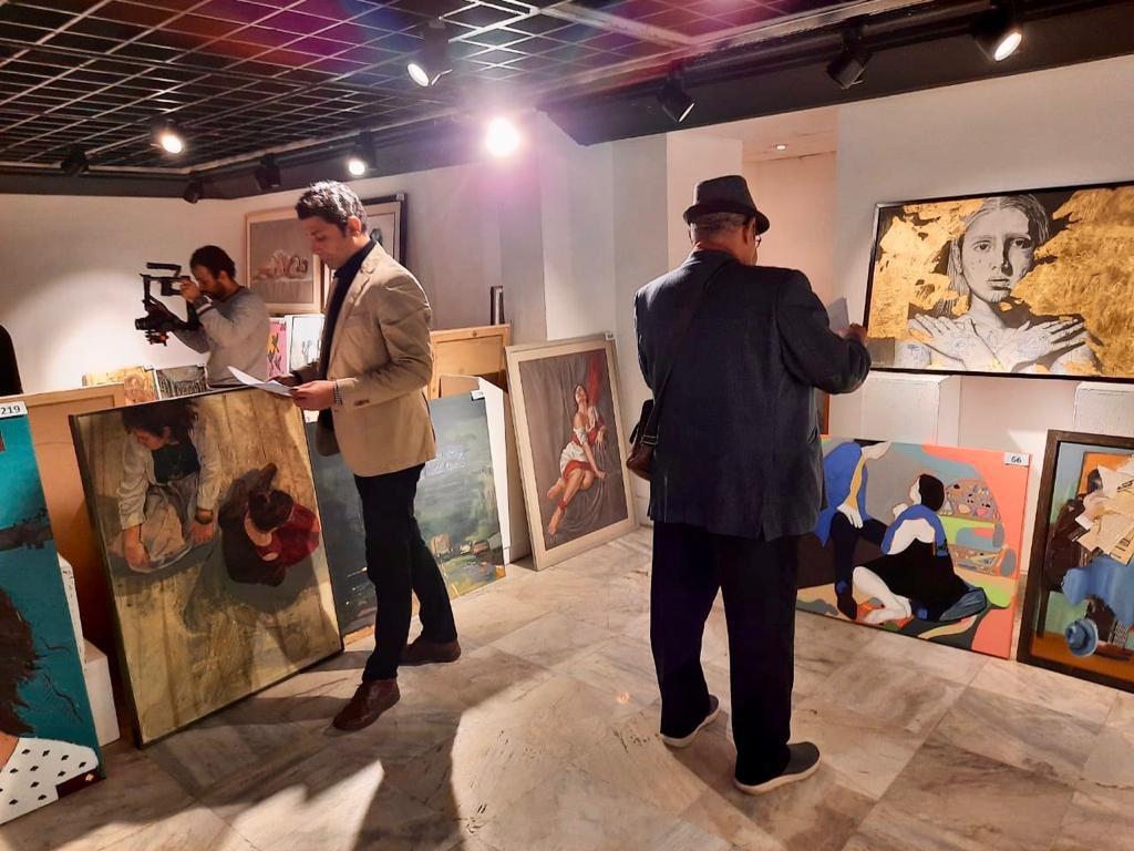 مؤسسة فاروق حسني الفنون والثقافة تختار الأعمال الفائزة للمشاركة في معرض مسابقة الفنون (9)