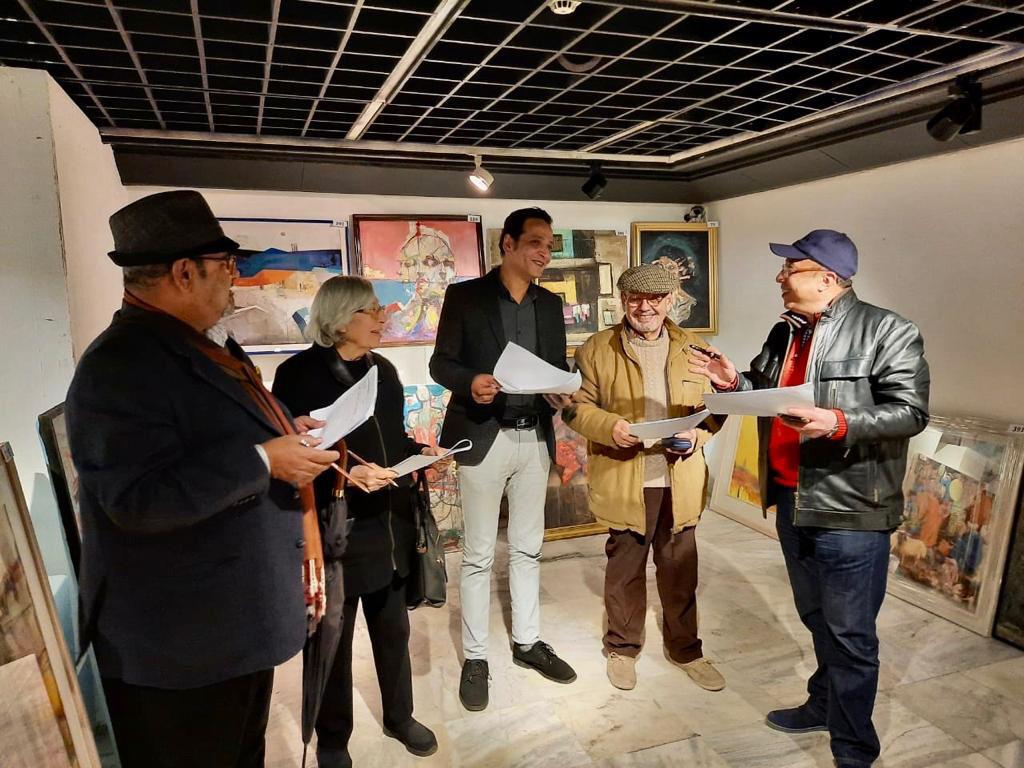 مؤسسة فاروق حسني الفنون والثقافة تختار الأعمال الفائزة للمشاركة في معرض مسابقة الفنون (3)