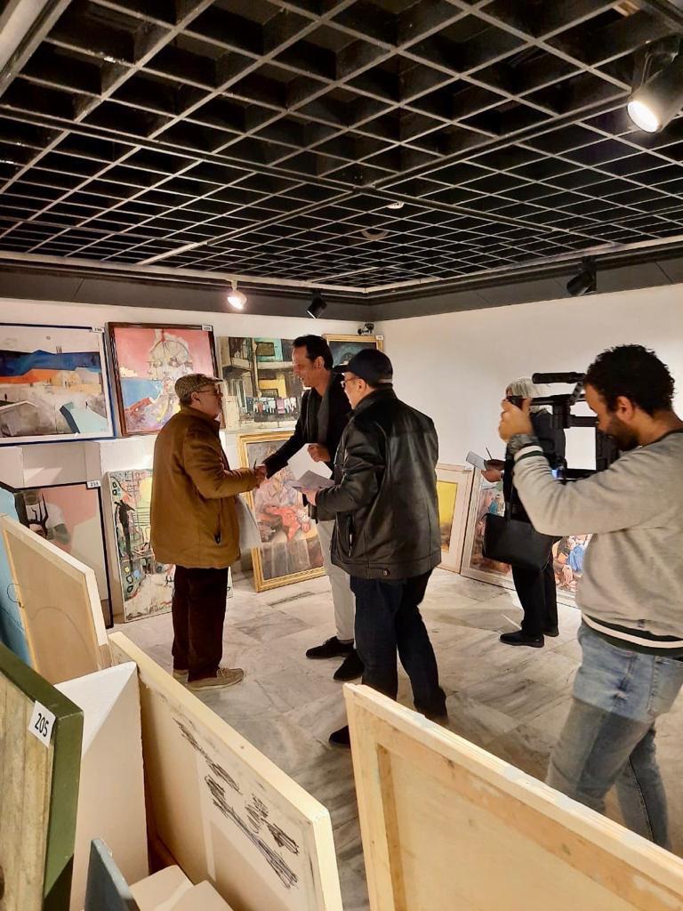 مؤسسة فاروق حسني الفنون والثقافة تختار الأعمال الفائزة للمشاركة في معرض مسابقة الفنون (8)