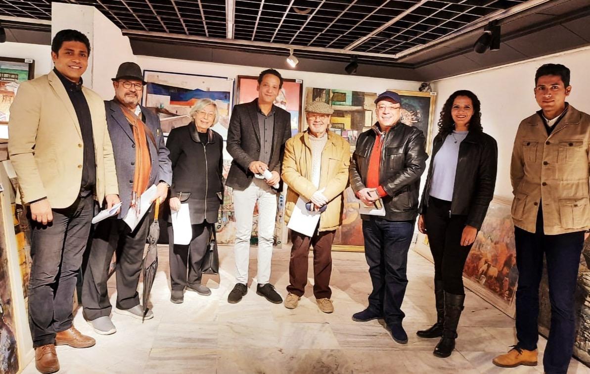 مؤسسة فاروق حسني الفنون والثقافة تختار الأعمال الفائزة للمشاركة في معرض مسابقة الفنون (1)