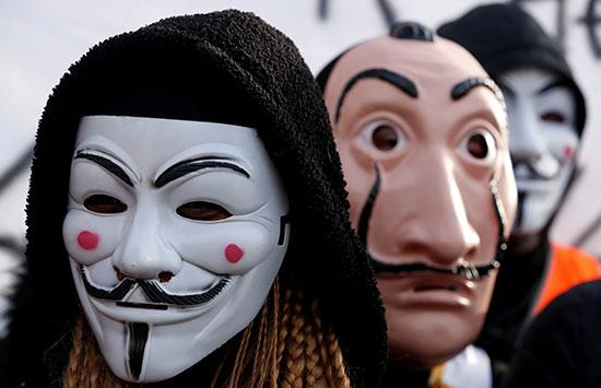 مظاهرات فى فرنسا لليوم 31 من الاضراب