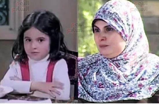 هالة طفلة فيلم الحفيد ، ميرفت العايدى فى فيلم الحفيد (17)