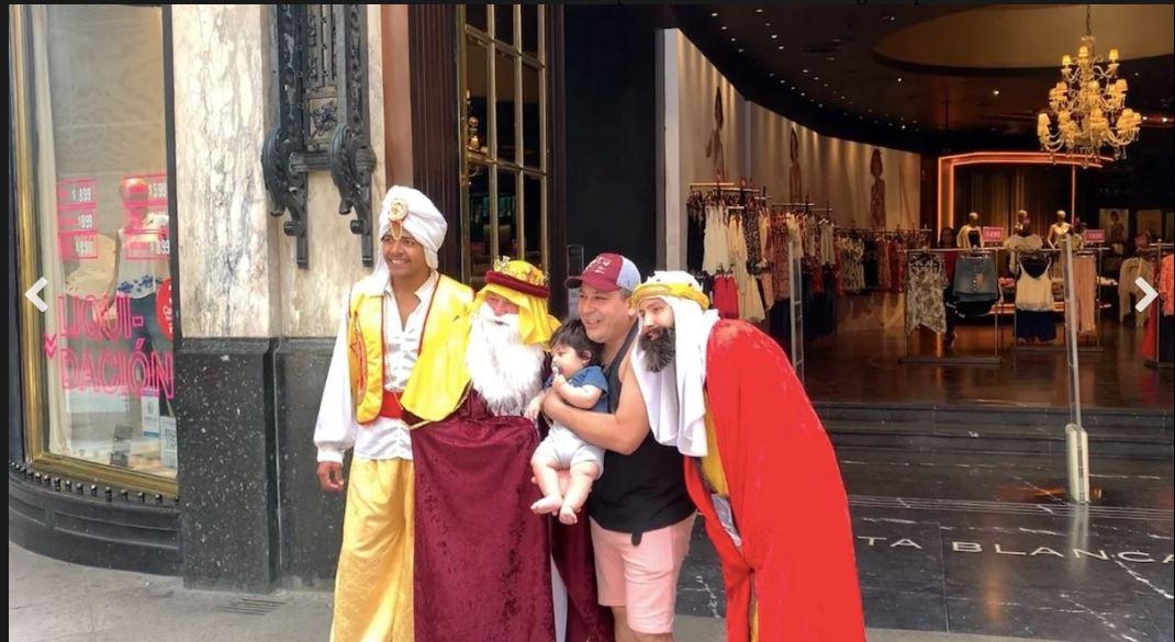 الاحتفال بملوك المجوس فى اسبانيا