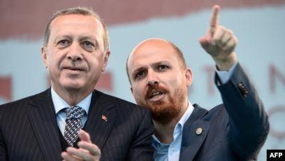 أردوغان برفقة ابنه بلال