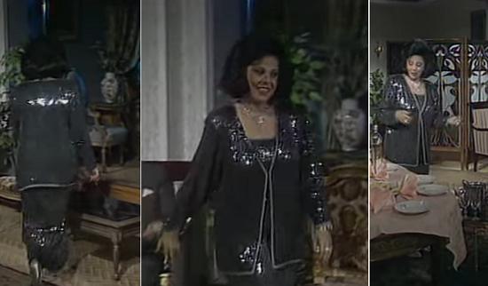 الفستان نفسه فى المسلسل