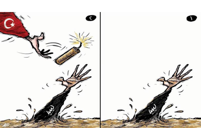 """تركيا """"تمثل"""" بمساعد ليبيا لاحتلالها"""