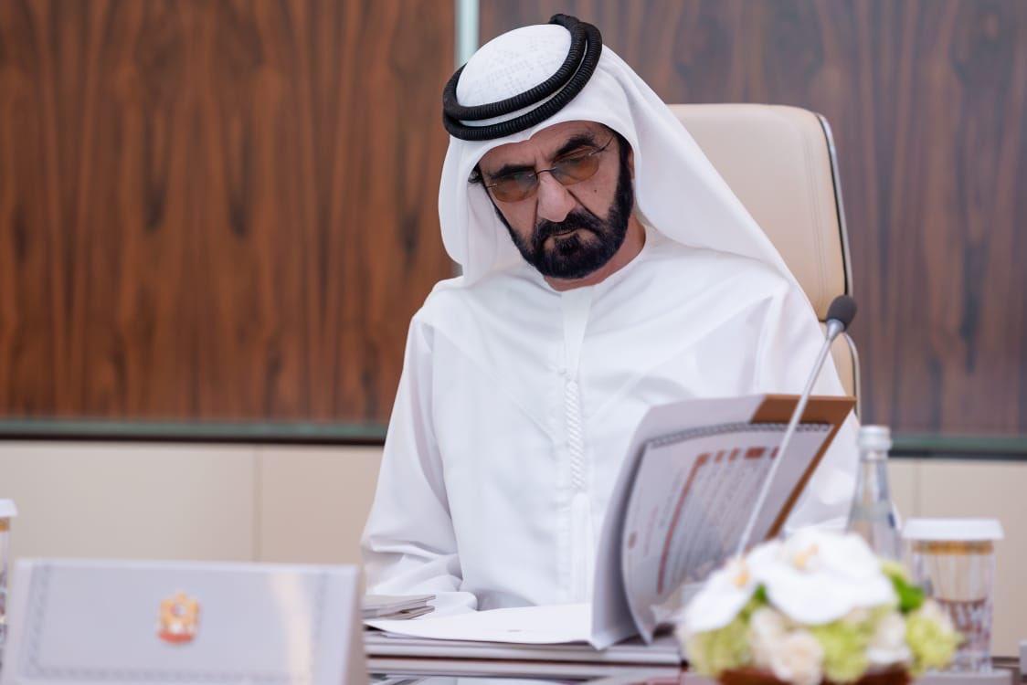 الشيخ محمد بن راشد حاكم دبى