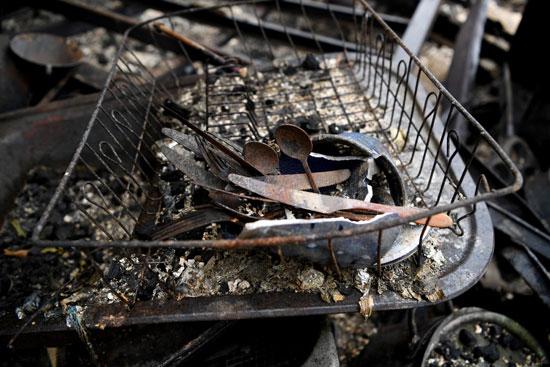 أثار إحتراق المنازل بمنطقة كوبارجو الأسترالية