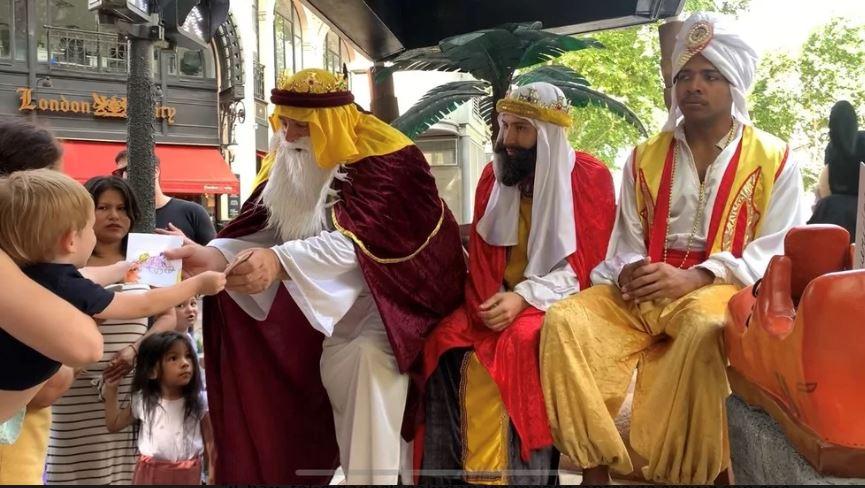 الاحتفال بموكب ملوك المجوس